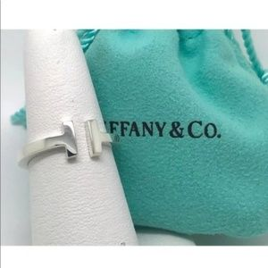 Tiffany & Co Sterling Silver T-Ring